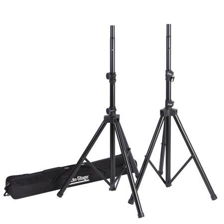On Stage SSP All Aluminum Speaker Stand Pak Zippered Bag 65 - 193