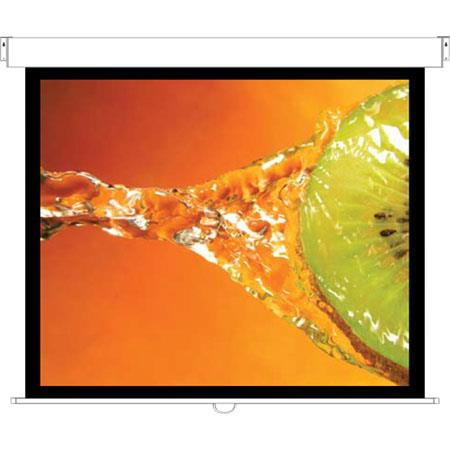 Optoma Wall Ceiling Manual Projection Screen Aspect RatioMatte 80 - 582