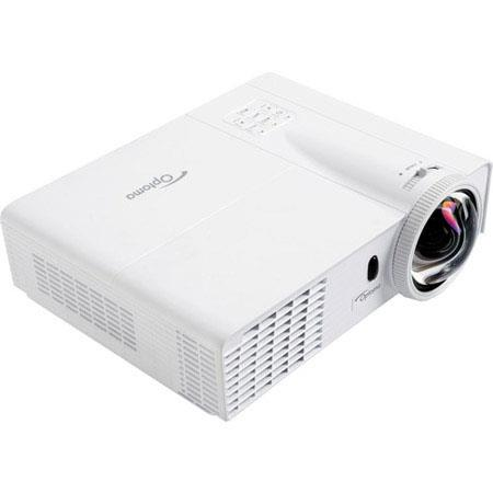 Optoma GT WUXGA D Gaming DLP Projector Lumens Contrast Ratio Native Aspect Ratio Watt Speaker 233 - 281