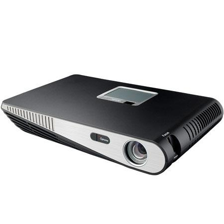 Optoma MLP WXGA Portable LED DLP Projector Lumens Aspect RatioW Speaker Hours LED Lamp HDMIVGAUSB 255 - 536