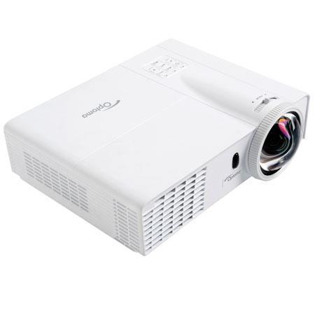 Optoma WST WXGA ANSI Lumens D DLP Projector Contrast Ratio Native Aspect Ratio dB Noise Level 1 - 464