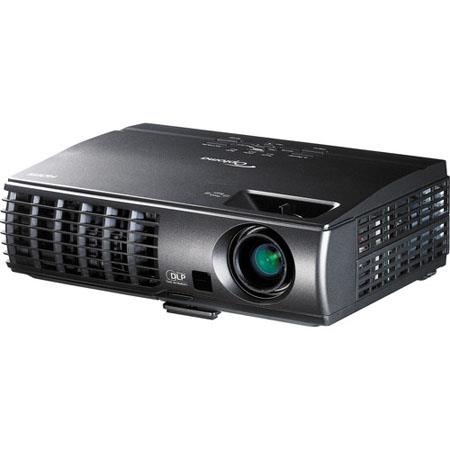 Optoma XM XGA D Projector ANSI Lumens Brightness Contrast Ratio Projection Distance One Watt speaker 170 - 763