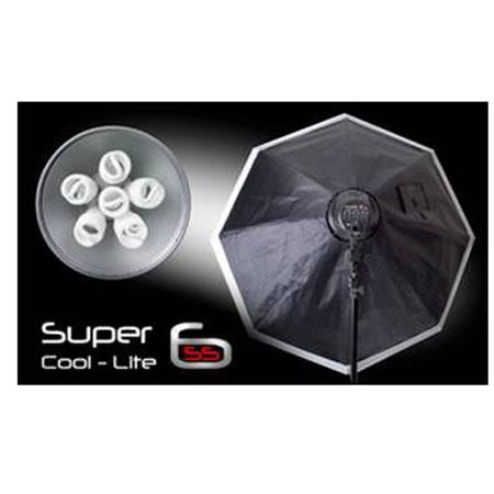 Interfit Photographic INT Super Coolite Head Fluorescent Kit Softboxes Lightstands Lamps 170 - 398
