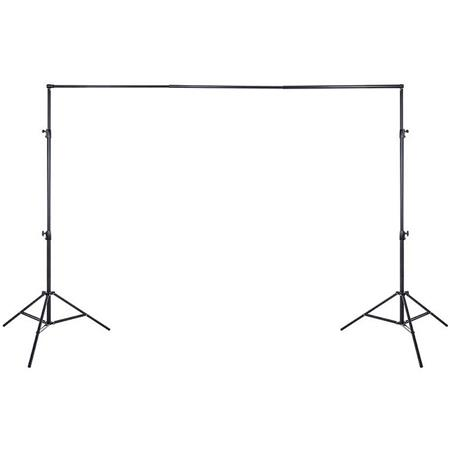 Interfit Photographic Free Standing Background Support Telescopic Cross Bar Large H W 51 - 319