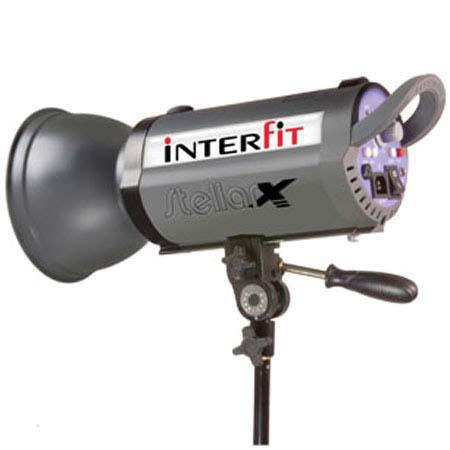 Interfit Photographic INT Stellar X Watt Second Fan Cooled Monolight Second Recycle Time v Sync Vola 205 - 116