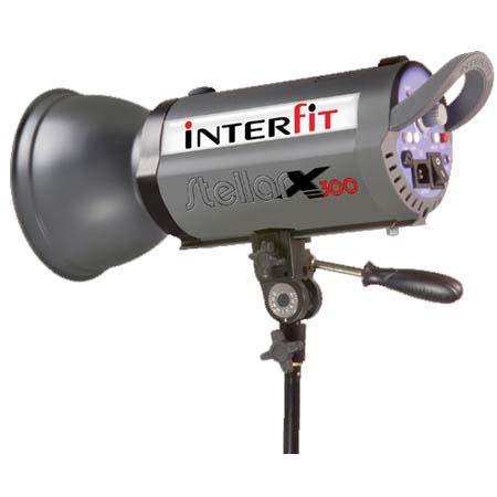 Interfit Photographic INT Stellar Watt Second Flash Monolight Color Temperature 225 - 63