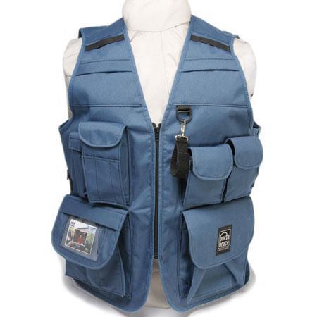 Porta Brace Video Vest Small Chest Color Blue 431 - 22