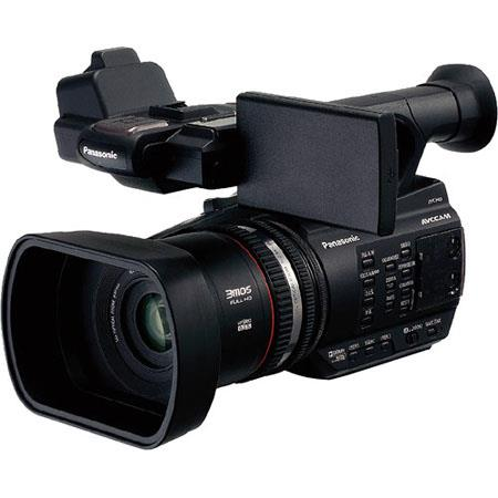 Panasonic AG AC AVCCAM HD Handheld Camcorder Three Full HD MP MOS Sensors Fixed Lens f andZoom Ratio 30 - 571