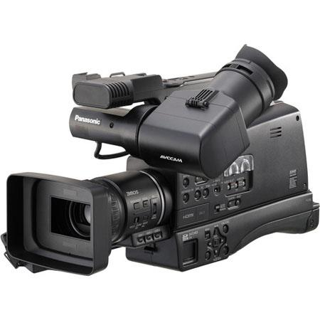 Panasonic AG HMC MOS AVCCAM HD Shoulder Mount Camcorder HD and SD Recording 57 - 490
