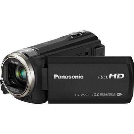 Panasonic HC V p Full HD Camcorder MPOpticalIntelligent Zoom Wide LCD Monitor Built In Wi Fi NFC USB 197 - 8