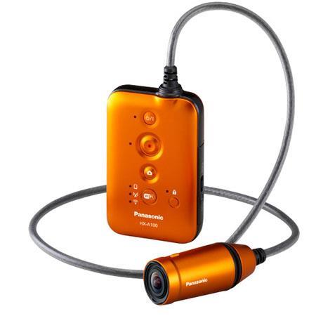 Panasonic HX A HD Wearable Camcorder MP BSI MOS Sensor deg Wide Angle of View m Waterproof  120 - 261