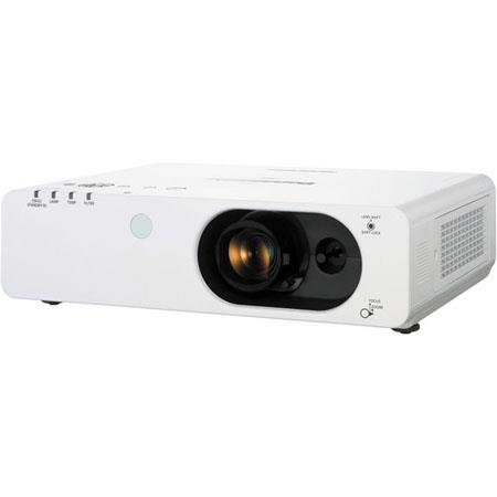 Panasonic PT FXU XGA LCD Projector LumensResolution Hours Lamp LifeZoom Lens HDMI 90 - 270