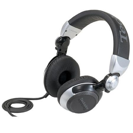 Panasonic Pro DJ Technics RP DJ S Headphone Hz kHz Frequency Response Ohms Impedance 56 - 645