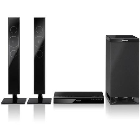 Panasonic SC HTB Channel Home Theater System Sound Bar Wireless Subwoofer W Total Power Optical Audi 7 - 615