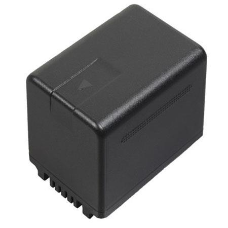 Panasonic VW VBT Lithium ion Camcorder Battery Pack mAh Capacity 46 - 54
