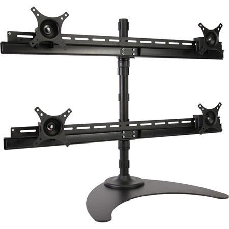 Peerless Quad Monitor Desktop Mount to Flat Panel Displays 61 - 746