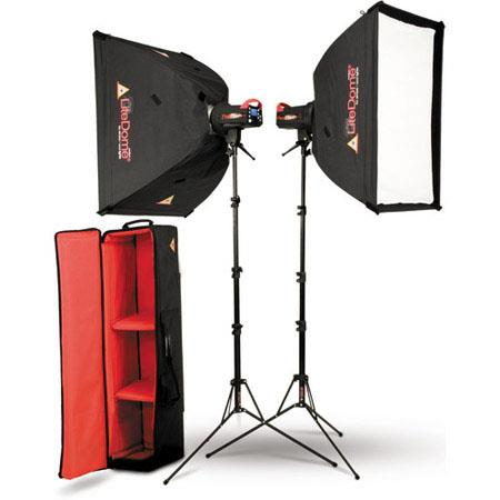 PhotofleFlexFlash Watt Light Kit XT MLD Medium LiteDomesLS LiteStandsType S OctoConnectors Carry Cas 44 - 568