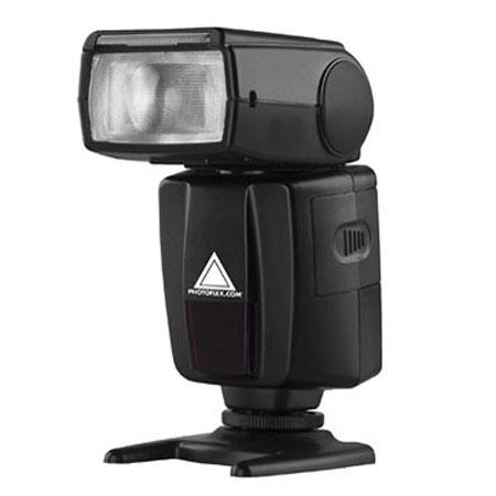 PhotofleStarfire Shoe Mount Digital Flash to Second Flash Duration Flash modes Guide No ISO  54 - 628