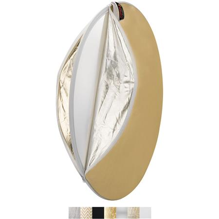 PhotofleMultiDisc White Silver Gold Soft Gold Translucent SunLite  206 - 80