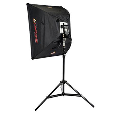 PhotofleMedium LiteDome Deluxe Kit LiteStand Swivel Mount Reversible Stud Speed Ring Adjustable Shoe 100 - 432