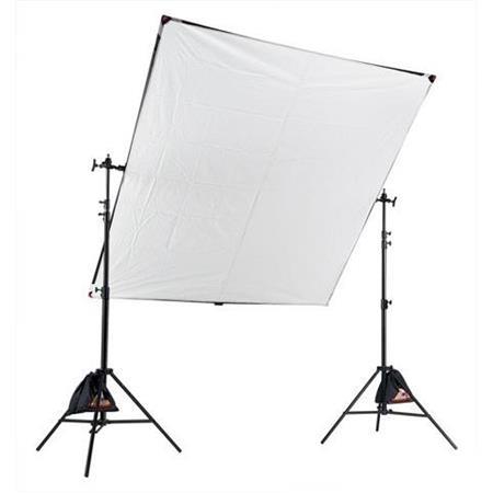 PhotofleLitepanelKit Aluminum Frame Translucent Fabric Stands Gripjaw Case Improved 30 - 414