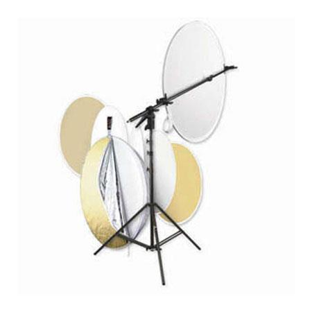 PhotofleMulti Disc Kit Multi Disc Portable Reflector Compact Holder and LightStand 66 - 63
