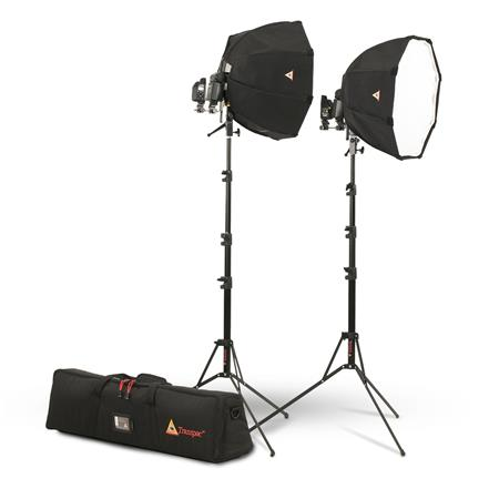 PhotoflePortable Speedlite Kit Includes OctoDome XS SoftboSpeed Ring Shoe Mount Connector LiteStand  89 - 445