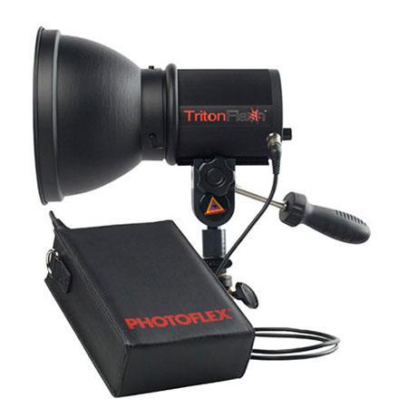PhotofleTritonFlash Kit Ws Strobe Head Lithium ion Battery Pack W Modeling Lamp 116 - 210