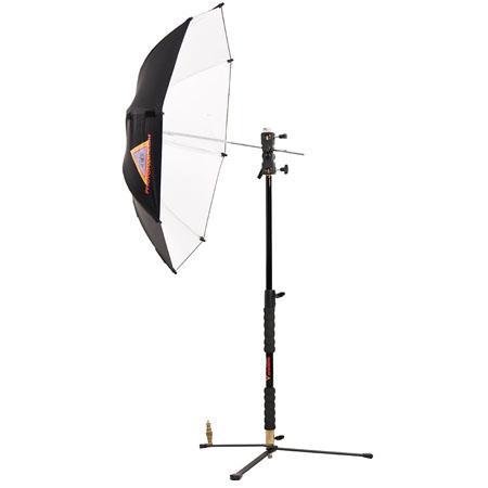 PhotofleShoeMountSpeedLight Umbrella Kit AC BSWCP Multi Clamp LS B LiteReach LiteStand 83 - 335