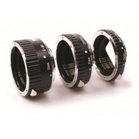 PhottiRing Auto Focus Macro Extension Tube Set Canon EF Lens Mount Metal 69 - 494