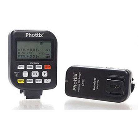 PhottiOdin TTL Flash Trigger Receiver Set Sony m Distance Channels GHz Frequency sec MaSync Speed 98 - 439