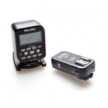 PhottiOdin TTL Flash Trigger Receiver Set Nikon m Distance Channels GHz Frequency sec MaSync Speed 95 - 715