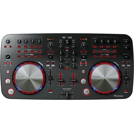 Pioneer DDJ ERGO DJ Controller Built Audio Interface Portable Plug n Play USB Controller 91 - 740