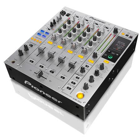 Pioneer DJM Four Channel Professional DJ Mixer Hz kHz Frequency Response RCA Coaxial Output Silver 183 - 232