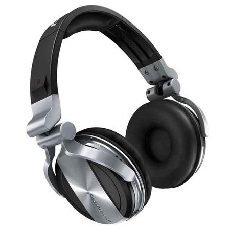 Pioneer HDJ Professional DJ Headphones Drivers Ambient Noiseuction Silver 80 - 582