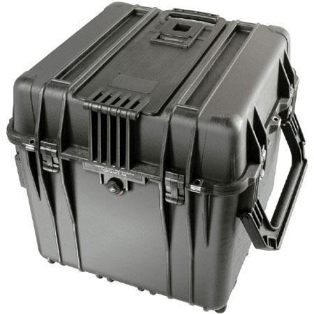 Pelican Watertight Hard Cube Case Padded Dividers Charcoal 112 - 408