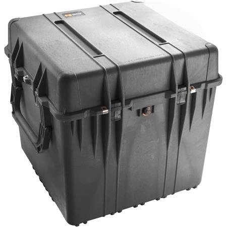 Pelican Watertight Hard Cube Case Without Foam Insert Charcoal 60 - 751
