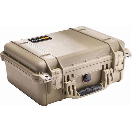 Pelican Watertight Hard Case Padded Dividers Desert Tan 204 - 437