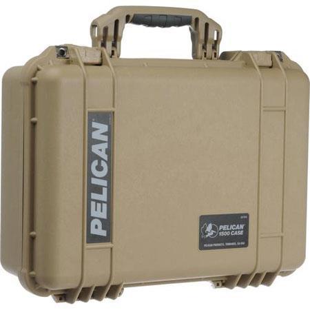 Pelican Watertight Hard Case Padded Dividers Desert Tan 259 - 755