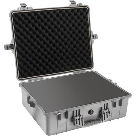 Pelican Watertight Hard Case Foam insert Silver Gray 58 - 332
