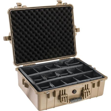 Pelican Watertight Hard Case Dividers Desert Tan 121 - 211