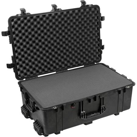 Pelican Watertight Hard Case Cubed Foam Wheels Charcoal 217 - 8