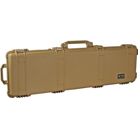 Pelican Watertight Gun Case Foam Insert Wheels Desert Tan 97 - 330