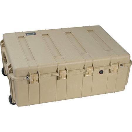 Pelican NF Transport Case without Foam Desert Tan 150 - 593