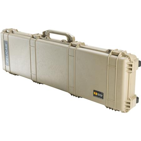Pelican Travel Vault Watertight Weapons Case Foam Insert Wheels Desert Tan 273 - 153