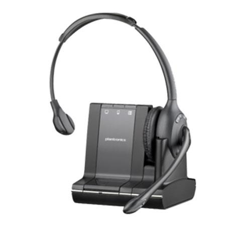 Plantronics Savi W Multi device Over The Head Wireless Headset System 43 - 522