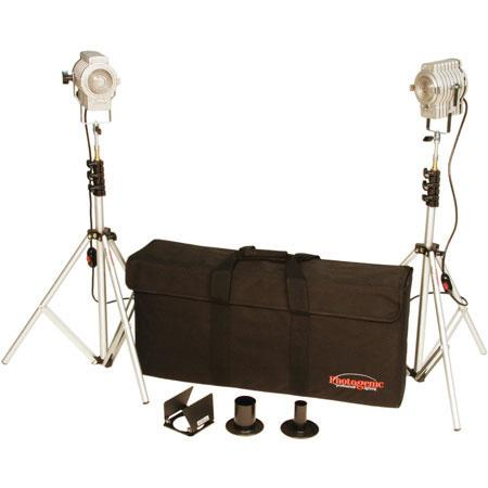 Photogenic Minispot Outfit Kit Minispots Lightstands Case CLFSK 141 - 229