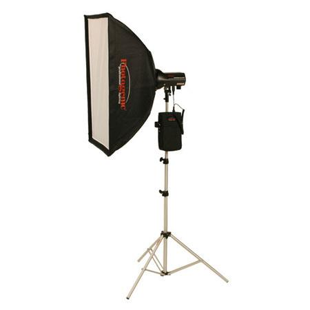 Photogenic AKCBRK WS StudioMaKit Ws Monolight Radio Battery PackSoft Box 40 - 181