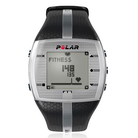 Polar FT Mens Heart Rate Training Monitor Watch Silver 52 - 734