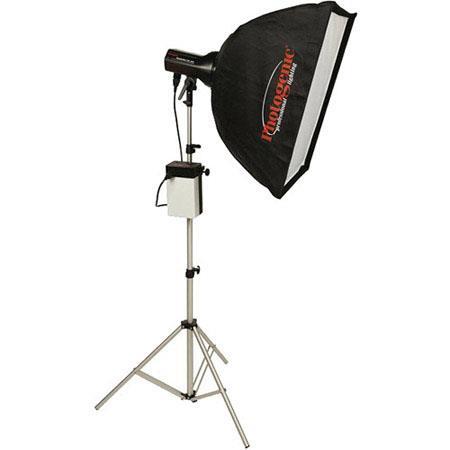 Photogenic ION Inverter StudioMaWs Flash Head and SoftboKit 104 - 435